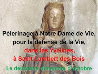 PèlerinageàNotreDamedeVie