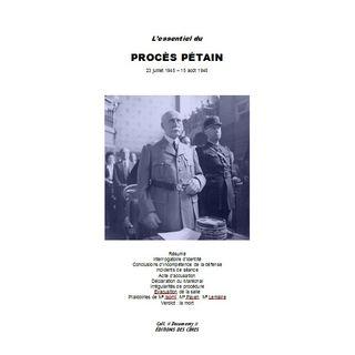 L'essentiel du Procès Pétain