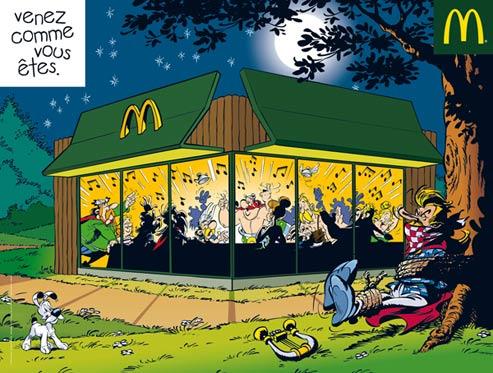Astérix au McDo